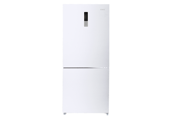 New - Chiq 432L White Bottom Mount CBM432W 1 | Fridge Factory