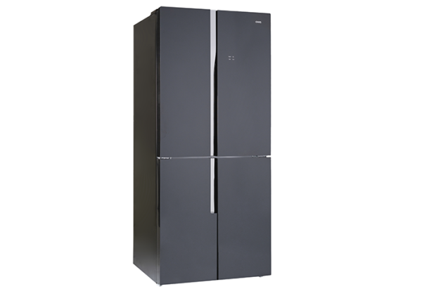 New - Chiq 463L French Door Black Glass CFD462GB 1 | Fridge Factory