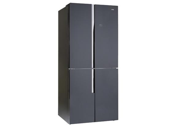New - Chiq 463L French Door Black Glass CFD462GB 1 | Fridge Factory