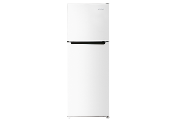 New - Chiq 370L White Top Mount CTM370W 1 | Fridge Factory