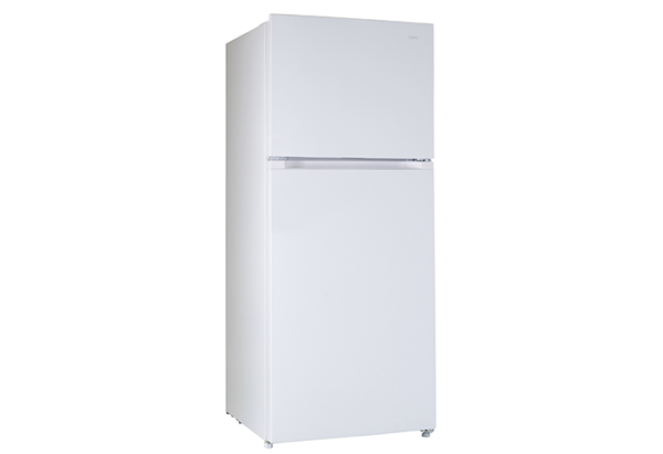 New - Chiq 435L White Top Mount CTM435W 1 | Fridge Factory