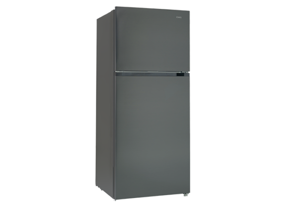 New - Chiq 550L Black Steel Top Mount CTM549B 1 | Fridge Factory