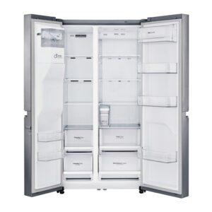 Factory Second - LG 670L Side by Side Stainless Steel GS-L668PNL 3 | Fridge Factory