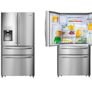 Refurbished - Hisense 701L French Door Stainless Steel HR6FDFF701SW 2 | Fridge Factory