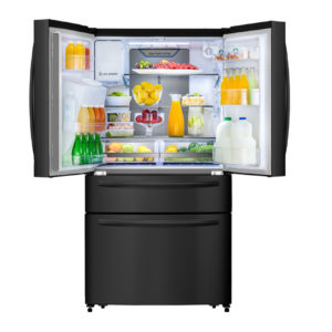 Factory Second - Hisense 701L French Door in Black HR6FDFF701BW 2 | Fridge Factory