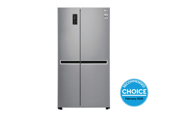 Factory Second - LG 687L Side by Side Stainless Steel GS-B680PL 1 | Fridge Factory