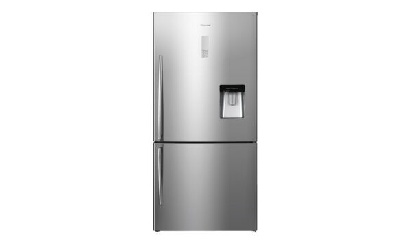 Factory Second - Hisense 514L Bottom Mount Stainless Steel HR6BMFF514SW 1 | Fridge Factory