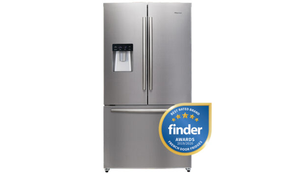 Refurbished - Hisense 630L French Door Stainless Steel HR6FDFF630S 1 | Fridge Factory