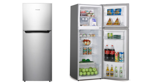 Factory Second - Hisense 230L Top Mount Stainless Steel HR6TFF230S 1 | Fridge Factory