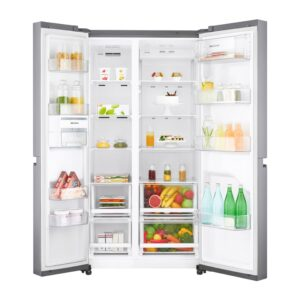 Factory Second - LG 687L Side by Side Stainless Steel GS-B680PL 2 | Fridge Factory
