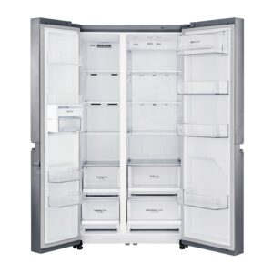 Factory Second - LG 687L Side by Side Stainless Steel GS-B680PL 3 | Fridge Factory