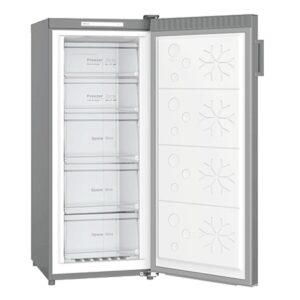 New - Chiq 190L Stainless Steel Freezer Single Door CSF188S 2 | Fridge Factory
