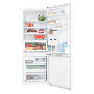 Factory Second - Westinghouse 340L White Bottom Mount WBB3400WG 2 | Fridge Factory