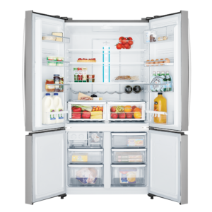 Factory Second - Westinghouse 600L French Door WQE6000SB 4 | Fridge Factory