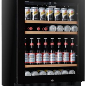 Factory Second - Vintec 100 Beer Bottle / 40 Bottle Wine Fridge V40BVCBK 4 | Fridge Factory