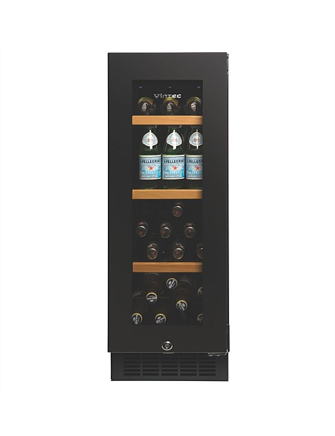 Factory Second - Vintec 40 Beer Bottle / 20 Bottle Wine Fridge V20BVCBK 1 | Fridge Factory