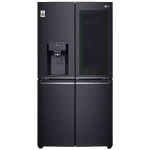 Factory Second - LG 706L French Door Fridge in Matt Black with InstaView GF-V706MBL 4 | Fridge Factory