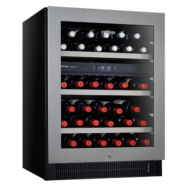 Factory Second - Vintec 100 Beer Bottle / 40 Wine Bottle Fridge V40SG2ES3 1 | Fridge Factory