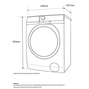 Factory Second - Electrolux 10kg/6Kg Front Load Washing Dryer Combo EWW1042ADWA (Grade C) 2 | Fridge Factory