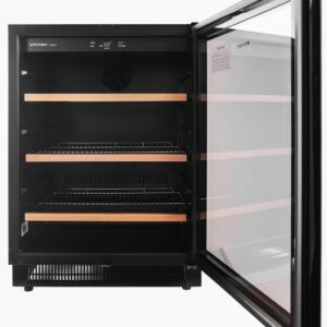 Factory Second - Vintec 100 Beer Bottle / 40 Bottle Wine Fridge V40BVCBK 5 | Fridge Factory
