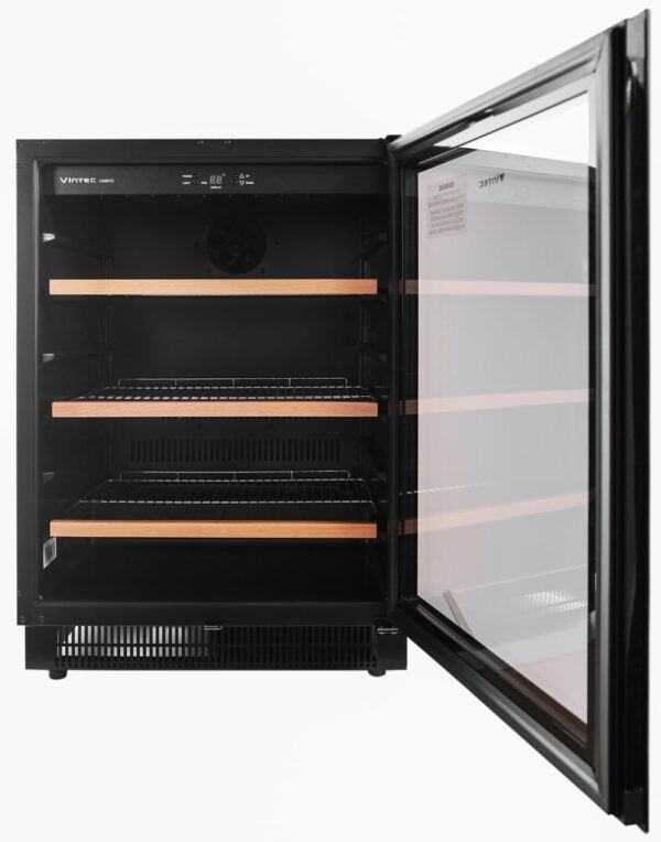Factory Second - Vintec 100 Beer Bottle / 40 Bottle Wine Fridge V40BVCBK 1 | Fridge Factory