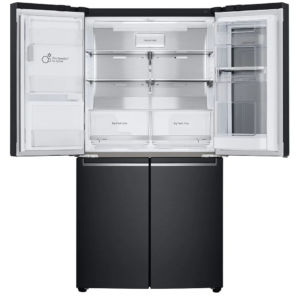Factory Second - LG 706L French Door Fridge in Matt Black with InstaView GF-V706MBL 2 | Fridge Factory