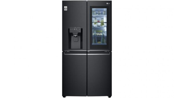 Factory Second - LG 706L French Door Fridge in Matt Black with InstaView GF-V706MBL 1 | Fridge Factory