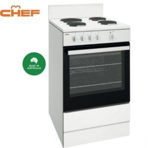 CFE532WB 54CM WHITE FREESTANDING COOKER 2 | Fridge Factory