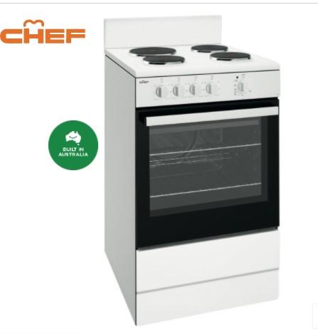 CFE532WB 54CM WHITE FREESTANDING COOKER 1 | Fridge Factory