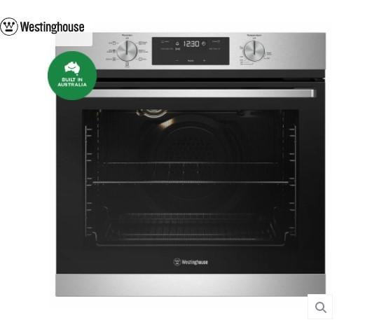 WVE615SC 60cm multi-function 7 oven, stainless steel 1 | Fridge Factory