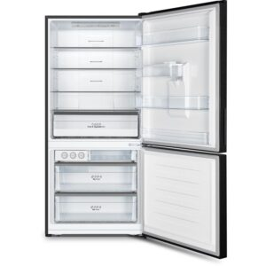 Hisense HR6BMFF518BW 518L Bottom Mount Fridge (Black) 2 | Fridge Factory