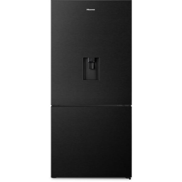Hisense HR6BMFF518BW 518L Bottom Mount Fridge (Black) 1 | Fridge Factory