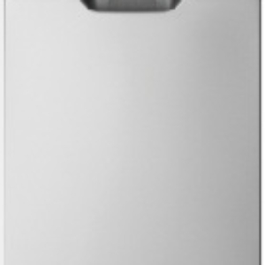 Freestanding dishwasher, stainless steel WSF6604XA