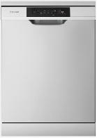 Freestanding dishwasher, stainless steel WSF6604XA 1 | Fridge Factory