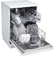 Euromaid 60cm Freestanding Dishwasher EDW14W 3 | Fridge Factory