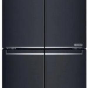 LG GF-B590MBL 594L Slim French Door Fridge (Matte Black, S/Steel)