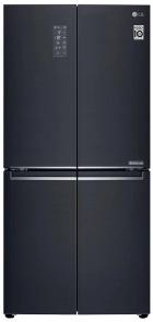 LG GF-B590MBL 594L Slim French Door Fridge (Matte Black, S/Steel) 1 | Fridge Factory