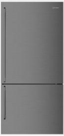 528L Dark Stainless bottom mount fridge...cracker of a fridge. 1 | Fridge Factory
