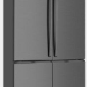 600L Dark Stainless 4 door French Door WQE6000BA