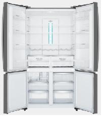 600L Dark Stainless 4 door French Door WQE6000BA 2 | Fridge Factory