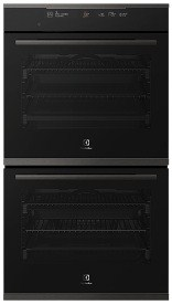 Electrolux 60cm Dark Multifunction double oven 1 | Fridge Factory