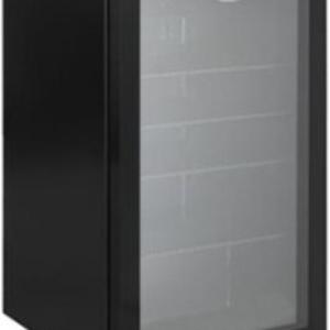 Heller 98L Beverage Cooler Fridge – Black HBC98