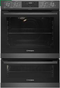 60cm multi-function 10/5 pyrolytic duo oven, dark stainless steel 1 | Fridge Factory